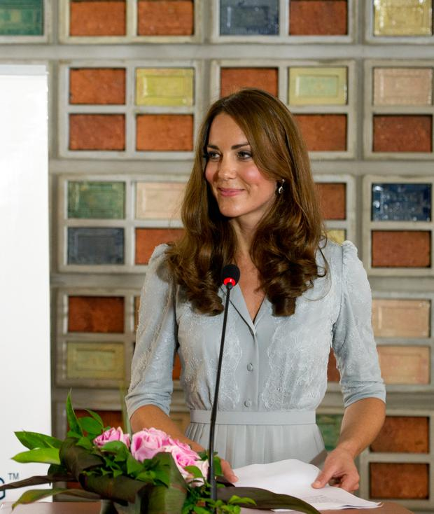 Catherine, Duchess of Cambridge delivers a speech at Hospis Malaysia on Day 3 of Prince William, Duke of Cambridge and Catherine, Duchess of Cambridge's Diamond Jubilee Tour of South East Asia on September 13, 2012 in in Kuala Lumpur, Malaysia