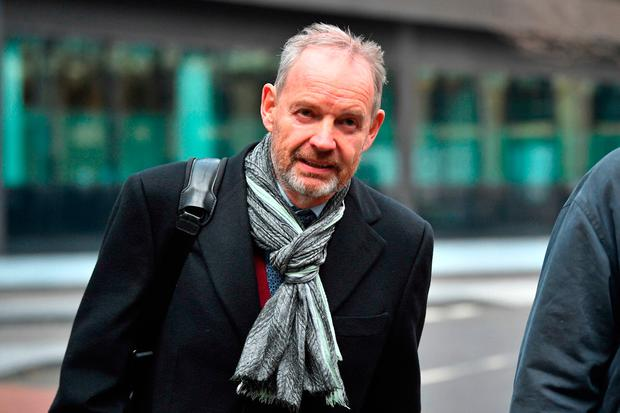Senior Barclays executive Richard Boath arrives at Southwark Crown Court Credit: Victoria Jones/PA Wire