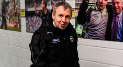 Juggling act: Kerry boss Peter Keane has to manage his resources carefully. Photo: Sportsfile