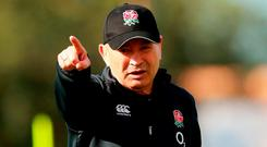 Eddie Jones' England represent the greatest threat in this championship to Ireland. Photo: David Rogers/Getty Images
