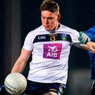 30 January 2019; Con O'Callaghan of University College Dublin in action against Brian Howard of TU Dublin City Campus during the Electric Ireland Sigerson Cup Round 3 match between UCD and TUDCC at Billings Park in UCD, Dublin. Photo by Eóin Noonan/Sportsfile