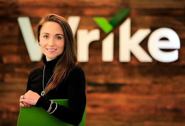 Patricia DuChene of Wrike in the Dublin office Picture: Gerry Mooney