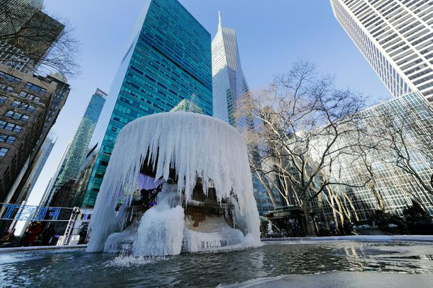 Waiting for the thaw: USA gets a reprieve after the deep freeze