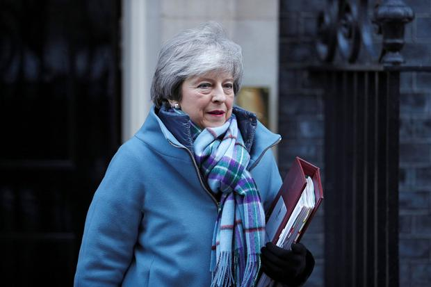 'Can the EU renegotiate with Mrs May in good faith if she is capable of striking a deal in November and reversing on it in January?' Photo: Reuters/Peter Nicholls