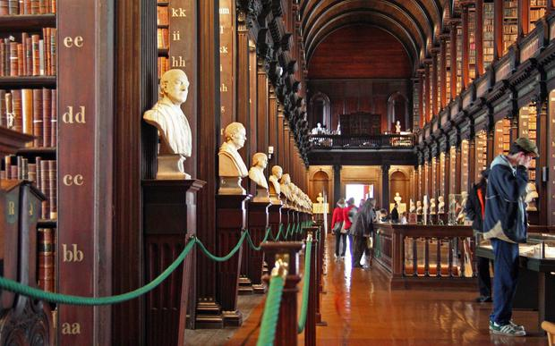 Minorities: The Old Library Building at Trinity College, Dublin
