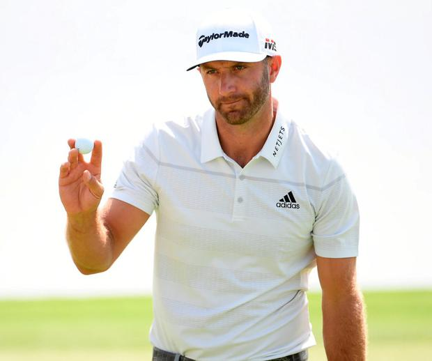 Dustin Johnson shot a career-best 61. Photo: Ross Kinnaird/Getty Images