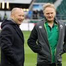 Eddie Jones and Joe Schmidt