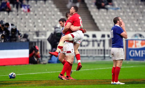 Six Nations: Gatland hails dramatic and record-breaking comeback win for Wales