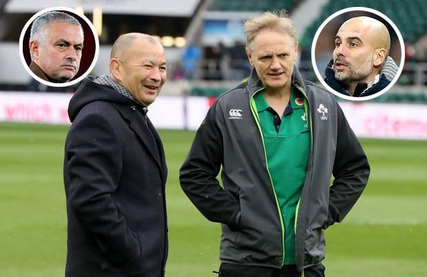 Joe Schmidt has won two of the three meetings against Eddie Jones in the Six Nations. Photo by David Rogers/The RFU Collection via Getty Images