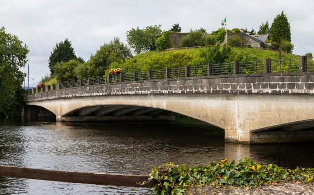 BRIDGE OVER TROUBLED WATERS: Physical infrastructure on the Border, like the Belleek Bridge that links Northern Ireland to the Republic, could be a target for dissident republicans keen to find a trigger to arouse nationalist resentment
