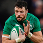 Ireland's Robbie Henshaw. Photo: Getty Images