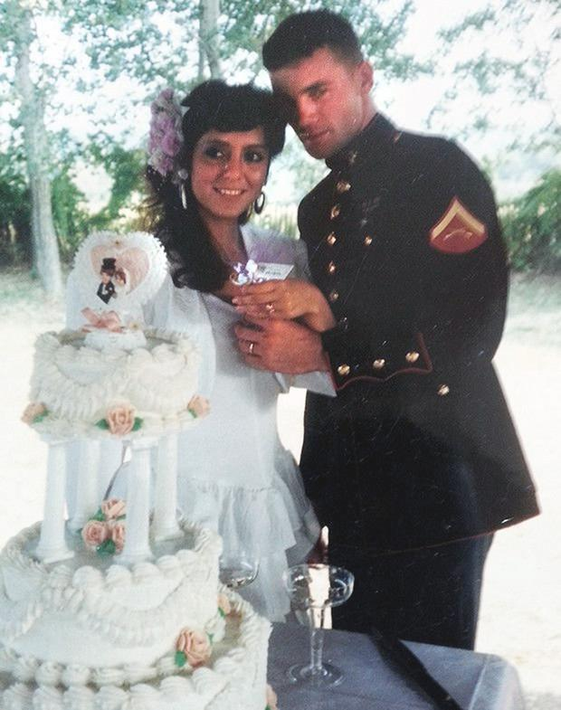 NOTORIOUS: Lorena on her wedding day