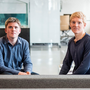 John Collison, left, and Patrick Collison, founders of Stripe Inc. Photo: David Paul Morris/Bloomberg