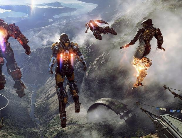 Anthem is best played in four-player co-op