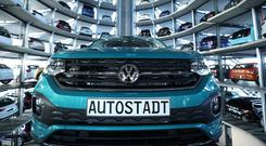 Volkswagen advanced €506m to customers of new and used cars. Photo: Krisztian Bocsi/Bloomberg