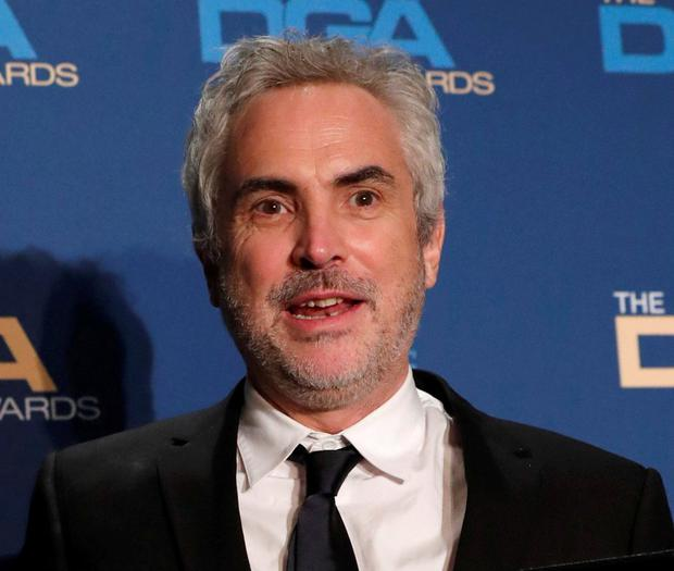 Good omen: Alfonso Cuaron. Photo: Mario Anzuoni/Reuters