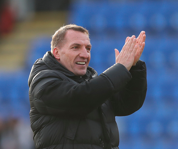 Delighted: Brendan Rodgers. Photo: Ian MacNicol/Getty Images