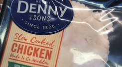 The offending chicken slices, made by Denny which is owned by Kerry Foods, were highlighted by food writer Katy McGuinness