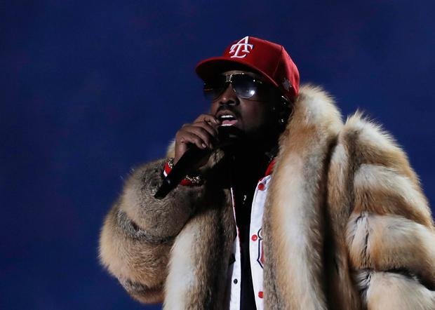 Super Bowl LIII Halftime Show - Big Boi performs during the halftime show. REUTERS/Mike Segar