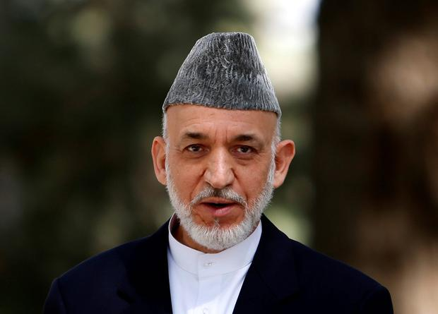 Hamid Karzai: Former president is due in Moscow for talks with Taliban. Photo: Reuters