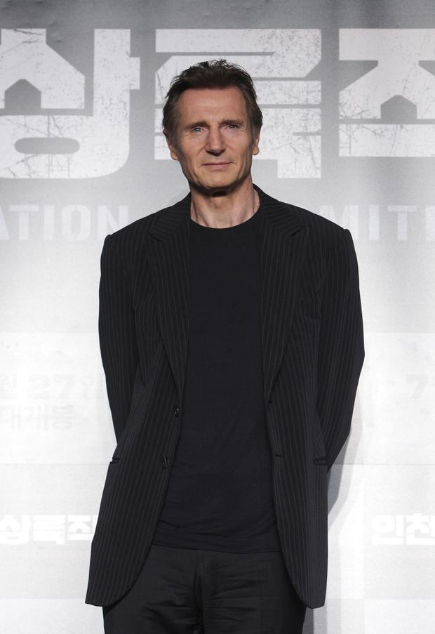 Row: Liam Neeson has been criticised over his comments. Picture: Getty