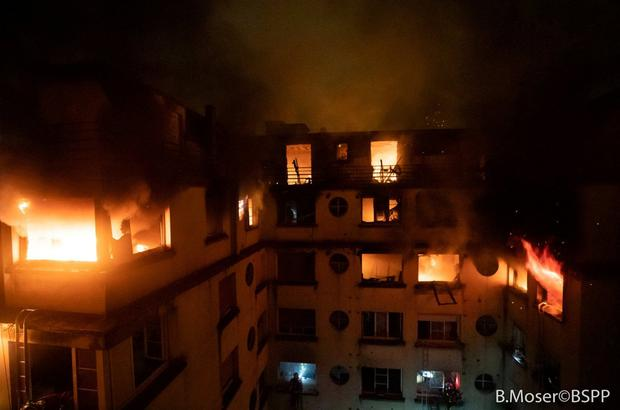 Paris fire: seven dead in blaze in eight-storey building