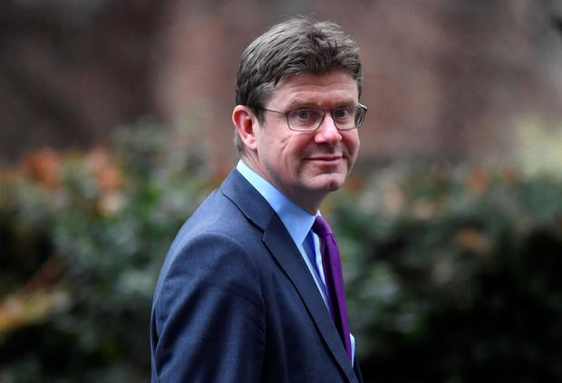 Britain's Secretary of State for Business Greg Clark is seen outside of Downing Street in London, Britain, February 4, 2019. REUTERS/Toby Melville