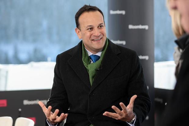 Seeking assurances: Taoiseach Leo Varadkar will be in Brussels. Photo: Simon Dawson/Bloomberg