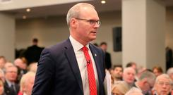 Tánaiste Simon Coveney visits Washington for meetings with senior US officials and elected representatives when he will highlight Ireland's concerns on Brexit and push for US support. Photo: PA