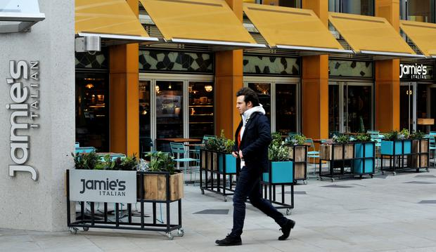 Jamie Oliver's UK restaurant chain collapses into insolvency