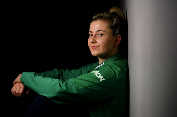 Emma Hooban has Ali Miller to thank for her start in underage rugby. Photo by Ramsey Cardy/Sportsfile