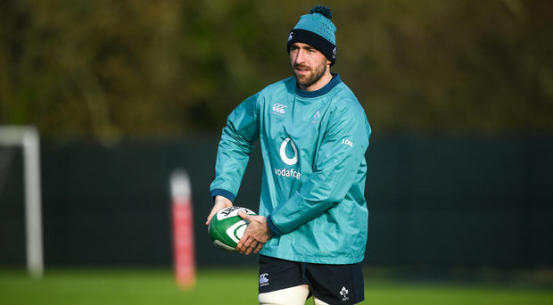 Jack Conan could feature at number eight for Ireland against Scotland. Photo by David Fitzgerald/Sportsfile