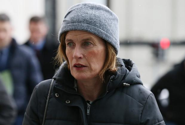 Upset: Mary Lowry was described as 'severely distressed' when she revealed the history of her relationship with the accused, Patrick Quirke. Photo: Collins Courts