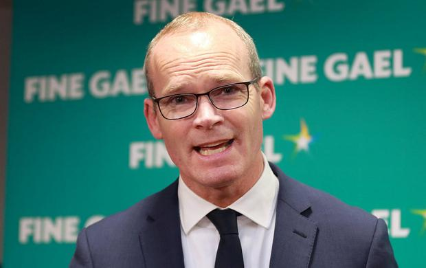 Strong message: Simon Coveney warned about Brexit's impact. Photo: Frank McGrath
