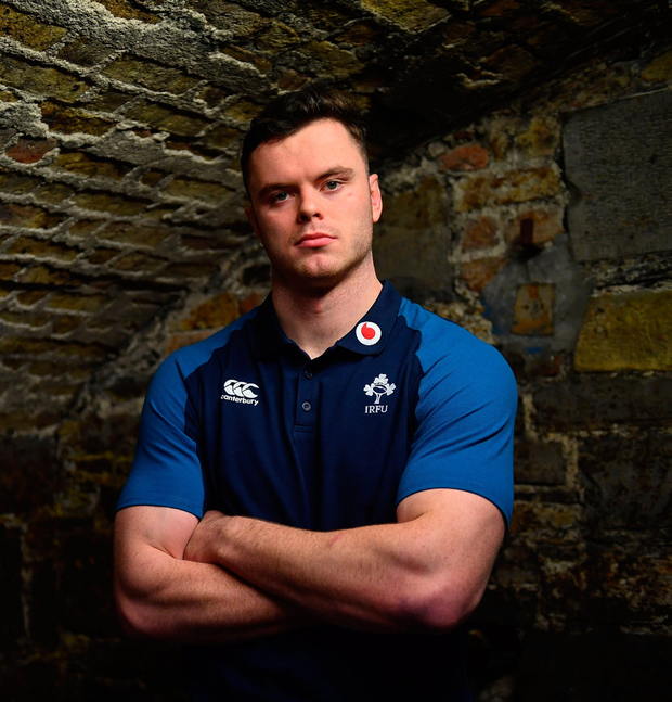 James Ryan is ready to embrace the challenge Scotland will pose on Saturday. Photo: Sportsfile