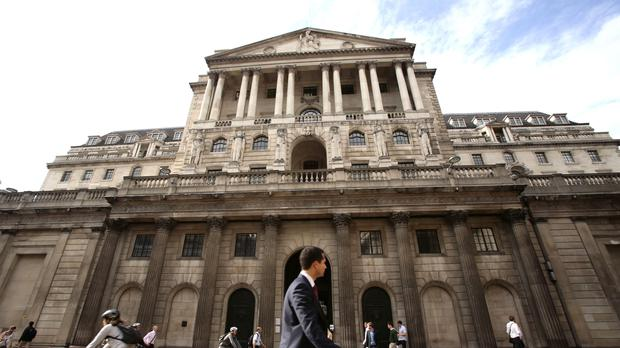 Bank of England policymakers left interest rates unchanged at 0.75% (PA)