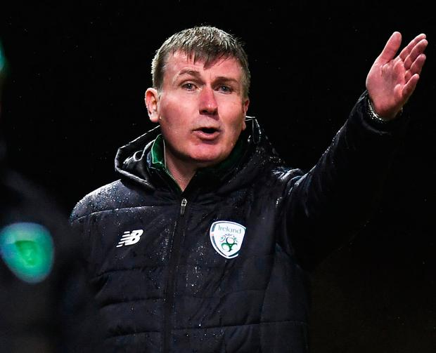 Stephen Kenny is mapping out a scouting plan to assess all of his options. Photo: Sportsfile