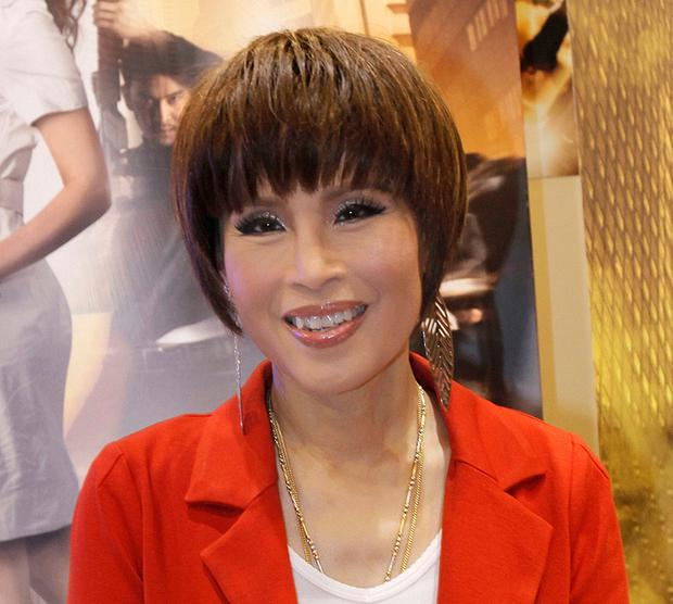 Thai Princess Ubolratana poses for a photo during her visit to promote Thailand's film industry at the Entertainment Expo Hong Kong Filmart. Thai Raksa Chart party selected Friday, Feb. 8, 2019, the princess as its nominee to serve as the next prime minister, (AP Photo / Vincent Yu)