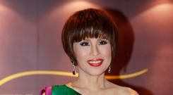 Thai Princess Ubolratana attends the Thai Gala Night in Hong Kong. Thai Raksa Chart party selected the princess as its nominee to serve as the next prime minister. (AP Photo/Kin Cheung, File)