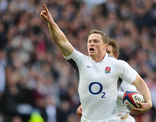 Chris Ashton has been recalled to the England starting team to face France