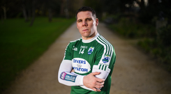 Kevin Cassidy, former Donegal and current Gaoth Dobhair footballer poses for a portrait ahead of their AIB GAA All-Ireland Senior Football Club Championship Semi-Final against Corofin taking place at Páirc Seán Mac Diarmada in Leitrim on Saturday, February 16th. Photo by David Fitzgerald/Sportsfile