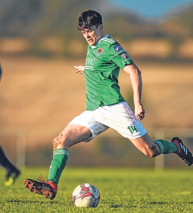 Cork City: Ronan Hurley. Photo: Sportsfile