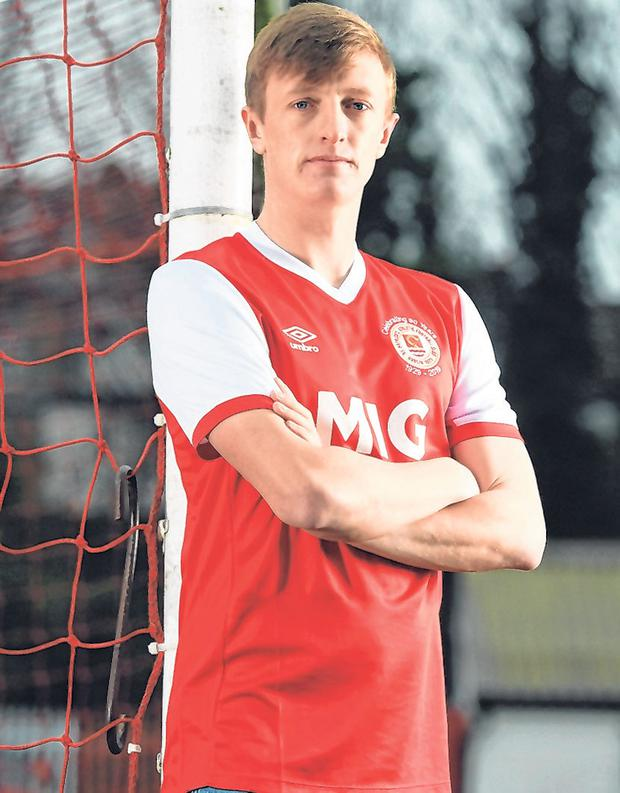 St Patrick's Athletic: Chris Forrester. Photo: Sportsfile