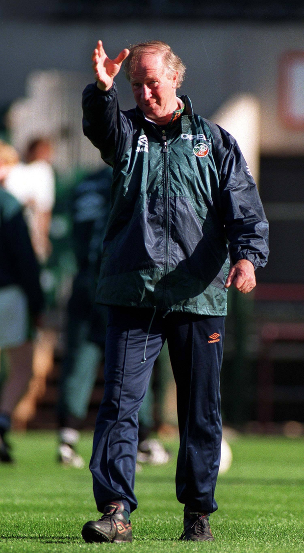 Charlton's team was about pressure, Schmidt's team is about process. Photo: Sportsfile