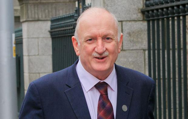 Dublin's Lord Mayor Nial Ring has the funds to save his home. Photo: Collins Photo Agency