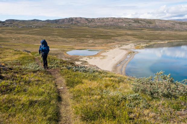 The Arctic Circle Trail in Greenland. Photo: David Flanagan