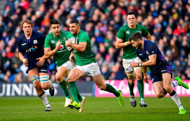 Scotland suffer Wilson injury blow after Ireland 6 Nations defeat