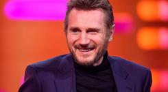 SCANDAL PLIGHT: Liam Neeson needs to stay low. Picture: PA