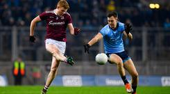'Watching Galway against Dublin on Saturday night, the thought struck me that the HSE could save a fortune on diazepam by allowing GPs to prescribe videos of Galway matches to patients.' Photo: Harry Murphy/Sportsfile