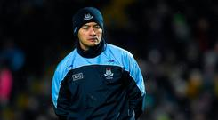 Dublin forwards coach Jason Sherlock prior to the Allianz Football League Division 1 Round 3 match between Kerry and Dublin at Austin Stack Park in Tralee, Kerry. Photo by Diarmuid Greene/Sportsfile